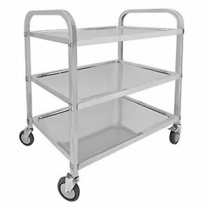 Catering Storage Shelf With Locking Wheels For Hotel Restaurant Home Use