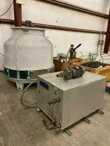 Used Arctic Chill arctichill Dry Cleaning Water Chiller Pump And Cooling Tower