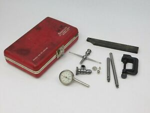 Starrett Dial Indicator Test Kit No 196 Complete In Case