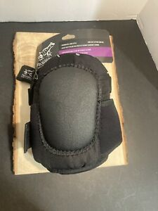 Global Glove Frogwear Knee Protection Pad Premium Gel Lined Non Slip Leather Cap