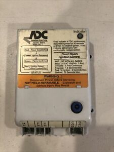 Adv Dryer Electronic Ignition Control Box 24v 50 60hz P n 880815 Used Sold As Is