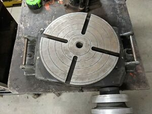 12 Bridgeport Rotary Table For Milling Machine