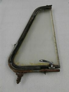 Willys Jeep Early 1950 S Pickup Wagon Passenger Side Vent Wing Window Used