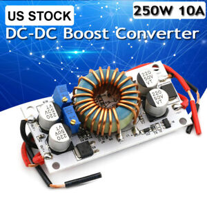 250w 10a Step Up Dc Boost Converter Constant Current Power Supply Led Module Us