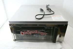 Otis Spunkmeyer Commercial Convection Cookie Oven Os 1 W 3 Trays Display Case