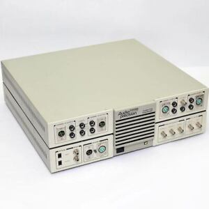 Audio Precision Sys 322g System One Dual Domain Audio Tester Analyzer dsp Hpib