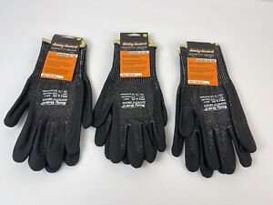 3 Pairs Of New Body Guard Safety Gear Work Gloves Cut Resistant Glove Small