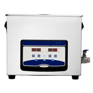 20l Ultrasonic Cleaner Stainless Steel Industry Heated Heater W timer Us Stock