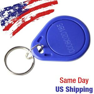 Rfid Keyfob 13 56mhz Key Fob Tag Token Nfc For Access Control Us Ship Today