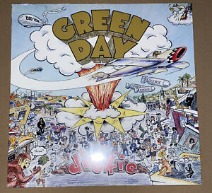 Green Day Dookie Vinyl Lp Factory Sealed Mint