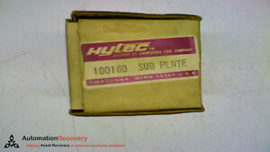 Hytec 100160 Sub Plate New 149298
