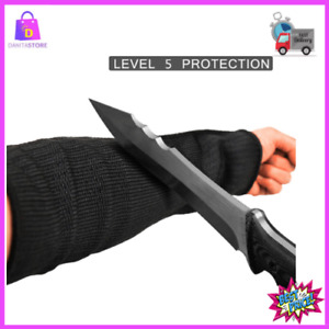 Protective Arm Sleeves Cut Heat Resistant Protectors Anti Abrasion Safety Work