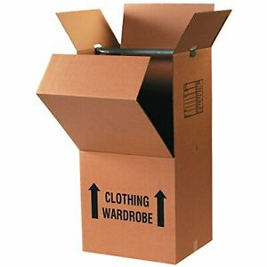 Boxes Fast Pre printed Wardrobe Moving Boxes 20 Length X 20 Width X 45 Hei
