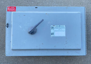 Ge Qmr365 hardware 400 Amp 600 Volt 3p Switchboard Switch Reconditioned