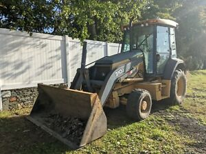 John Deere 310j 4100 Hours 4wd Comes With 24 And 12 Inch Buckets And Forks