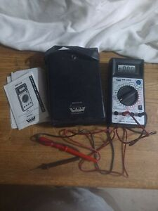 Uei Dm310 two Of Them Multimeter Transistor Clamp Testers Tested