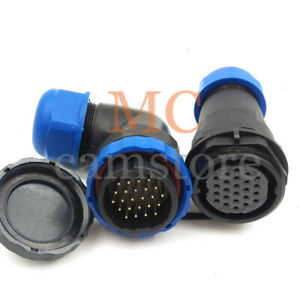 Sd28 Elbow 24pin Connector Plug Socket industrial Electrical Cable Wire Connecto