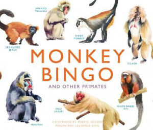 Monkey Bingo: And Other Primates Magma for Laurence King by Marcel George $34.32