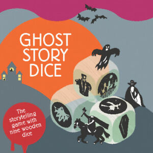 Ghost Story Dice Magma for Laurence King by Hannah Waldron $17.20