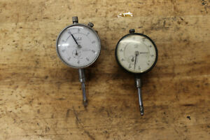 Teclock Mitutoyo Dial Indicator No 2416 Jeweled 001 Machinist Tool Vintage Us