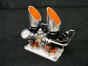4 71 Blower Supercharger Holley 94 2x2 Nystrom Carb Plate