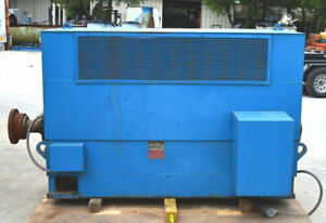 Ideal Electric 308399 At 2000 hp 3ph Polyphase Induction Motor Mca1688 Dripproof