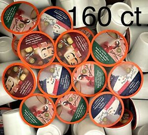 160 ct BOSTON'S BEST SINGLE SERVE K CUPS 3 FLAVORS HOLIDAY ASSORTMENT $55.95