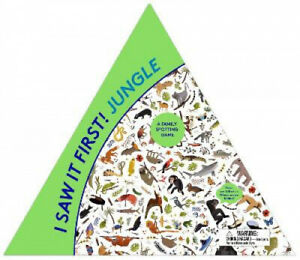 I Saw It First Jungle: A Family Spotting Game Magma for Laurence King $27.05