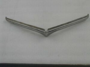 Willys Jeep Pickup Wagon Chrome Top Grill Bar Very Rough Shape