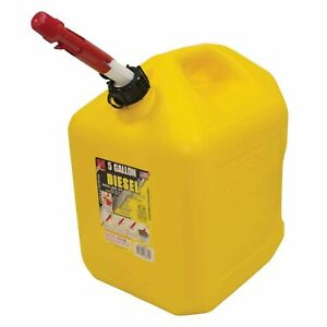 New Fuel Can For 5 Gallon Plastic Diesel 765 512
