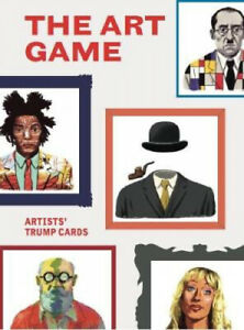 The Art Game: Artists#x27; Trump Cards Magma for Laurence King by James Cahill $12.85