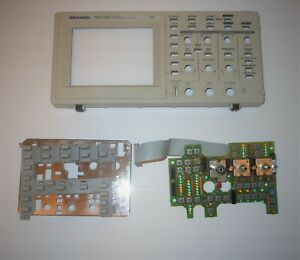 Tektronix Tds220 Digital Oscilloscope Front Panel And Switch Assembly