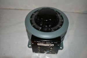 Superior Electric Powerstat Variable Transformer Type 236b nd71