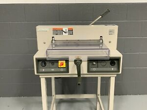 Mbm Triumph 3915 95 15 Electric Paper Cutter Professionally Serviced Tested