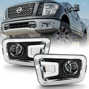 Factory Style Replacement W Switch For 16 19 Nissan Titan Fog Light Lamp Mount