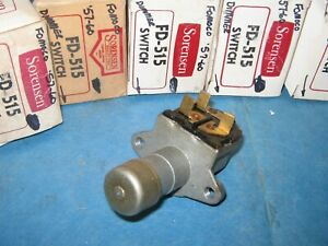 Ford Mercury Lincoln Thunderbird F100 1957 60 5 New Dimmer Switch Usa