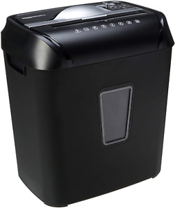 12 sheet Cross cut Paper And Credit Card Home Office Shredder