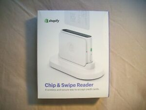 Shopify Chip Swipe Reader Brand New Sealed In Box Seamless Simple Secure