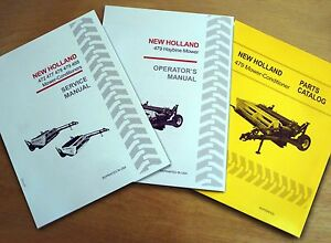 New holland 479 Haybine Mower Conditioner Operator s Service And Parts Manual