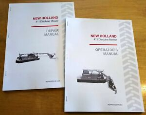 New Holland 411 Discbine Mower Conditioner Operator s And Service repair Manual