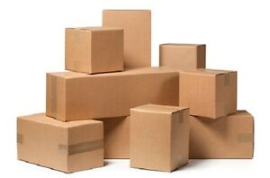 17x13x5 Shipping Moving Packing Boxes 25 Ct
