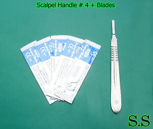 Lot Of 200 Scalpel Handle 4 With 400 Blade 21