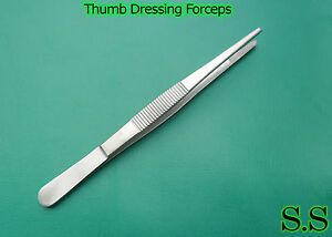 100 Thumb Dressing Forceps 5 5 Surgical Instruments