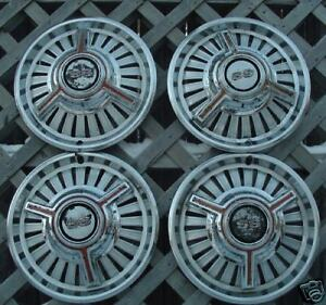 Vintage Chevrolet Chevy Ii Chevelle Nova Ss Hubcaps Wheel Covers Center Caps