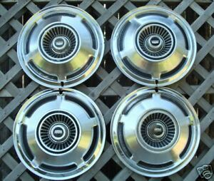 Ford Galaxie Crown Vic Ltd Hubcaps Hub Cap Wheel Covers