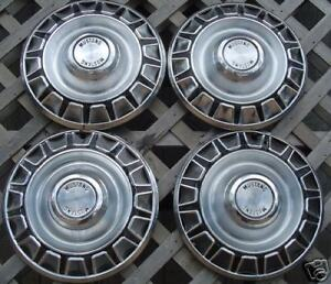 Vintage Classic Antique 1970 Ford Mustang Hubcaps Center Cap Wheel Covers Fomoco