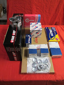 Buick 350 Performance Engine Rebuild Kit Hi Comp Pistons 1968 80 Century Regal