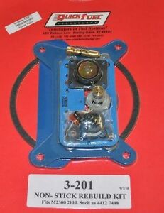 2 Barrel Carburetor Rebuild Kit Holley 4412 2300 7448 350 500 Cfm 3 201