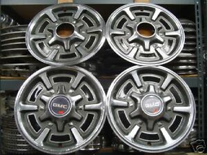 Gmc Jimmy Truck Hubcaps Wheel Covers Hubcap Wheels Rims
