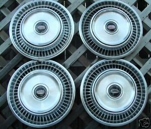 Mercury Comet Ford Maverick Hubcap Hubcaps Wheel Covers